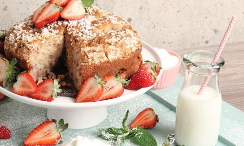 Laura Vitale Strawberry Shortcake Coffee Cake