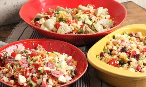 Cauliflower �pasta� Salad