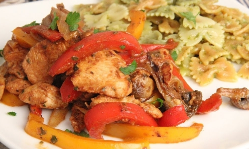 Italian Chicken Stir Fry with Vegetables