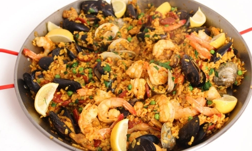 Paella recipe laura in the kitchen forumfinder Images