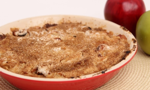 Apple cranberry crumble recipe laura in the kitchen forumfinder Images