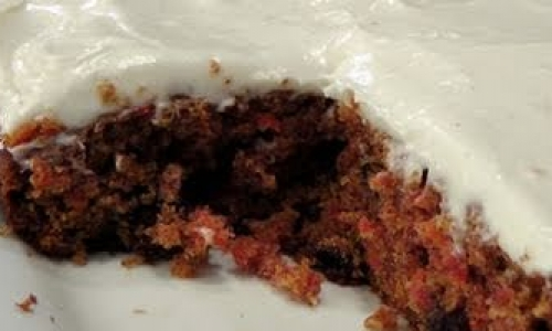 Carrot cake with cream cheese frosting recipe laura in the kitchen forumfinder Images