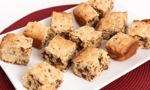 Sweet and Salty Cookie Bars