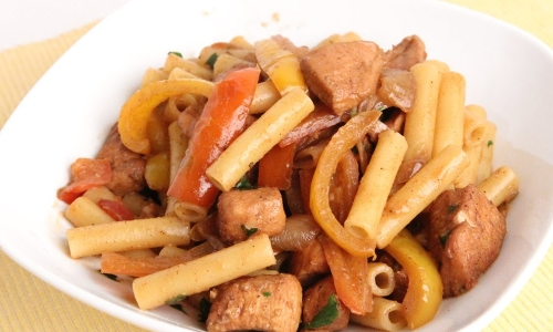 Chicken Fajita Pasta
