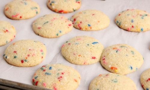 Cake Mix Birthday Cookies Recipe
