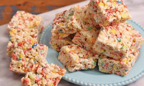 Fruity Crispy Treats