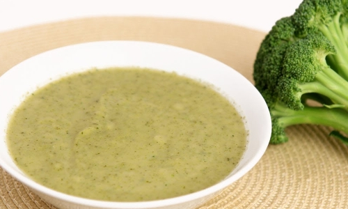 Light Cream of Broccoli Soup