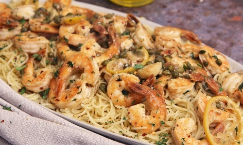 Quick and Easy Shrimp Piccata