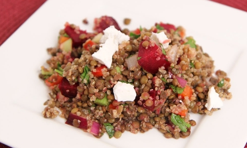 Quinoa and Lentil Salad Recipe