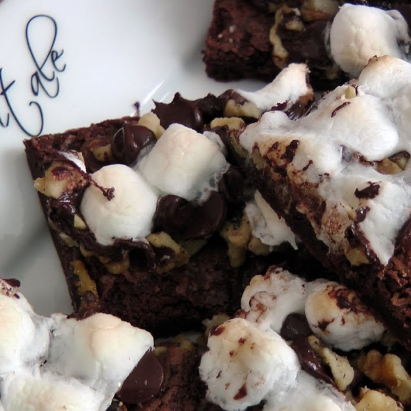 Rocky Road Brownie Bars