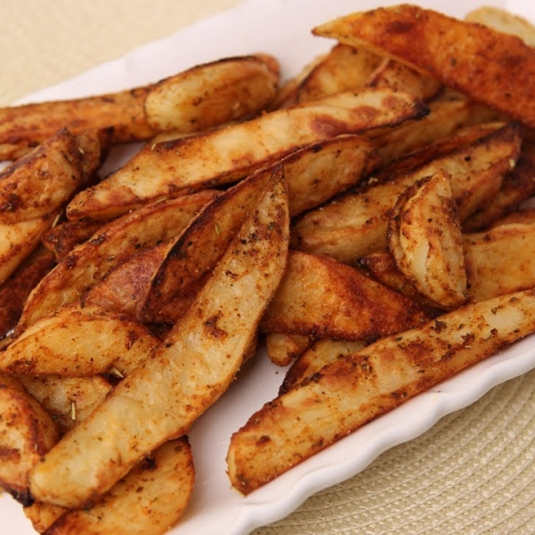 Spicy Roasted Potato Fries