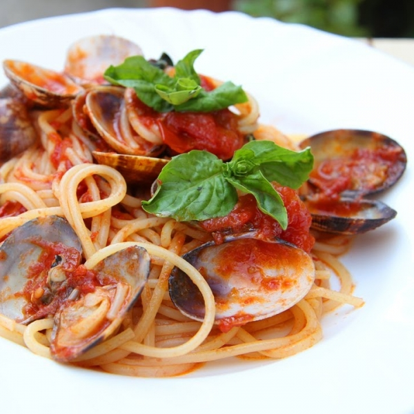 Nonna's Spaghetti with Clams