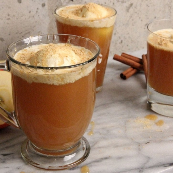 Apple Cider Floats