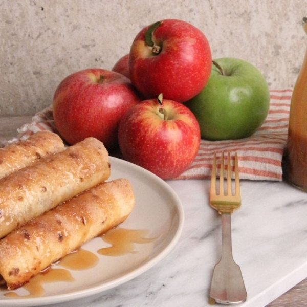 Apple Pie Taquitos