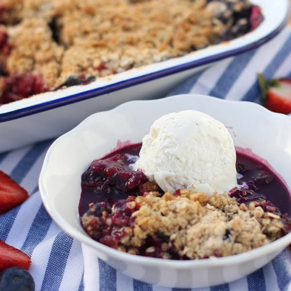 Better Than Ever Berry Crisp