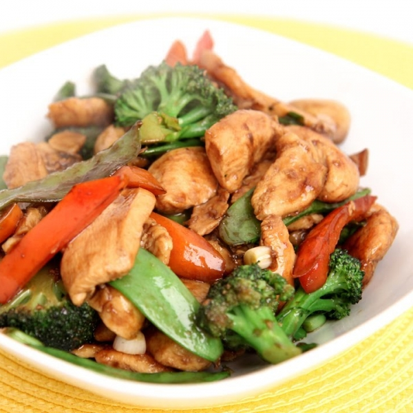 Chicken and Veggies Stir Fry