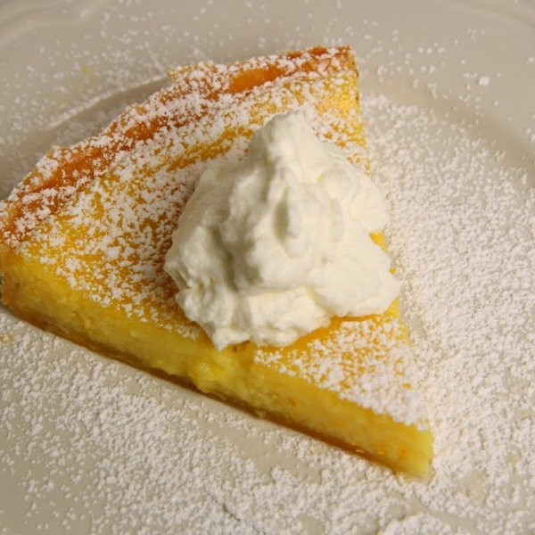 Citrus Custard Tart