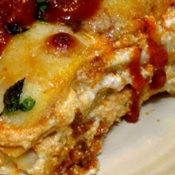 Classic Meat & Cheese Lasagna