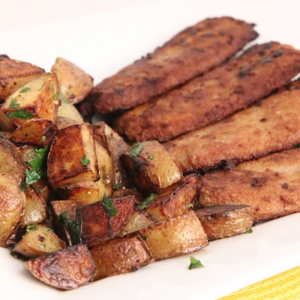 Crispy Sausage and Potatoes