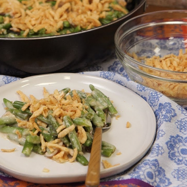 Family Style Green Bean Casserole