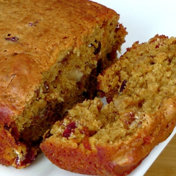 Fruity Nutty Pumpkin Bread
