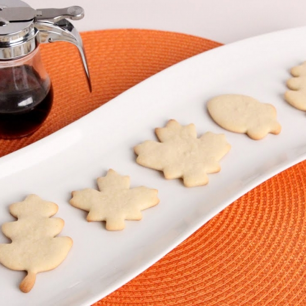 Maples Sugar Cutout Cookies