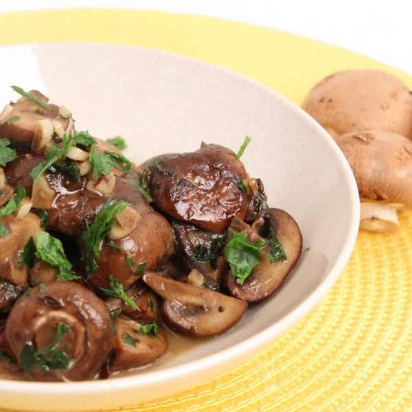 Parmesan Sauteed Mushrooms