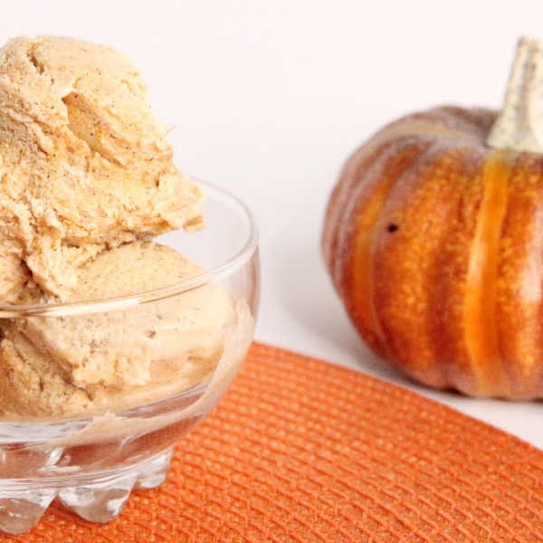 Pumpkin Ice Cream NO MACCHINE