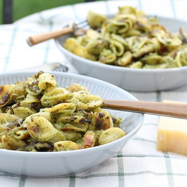 Quick and Easy Crispy Pasta with Broccoli
