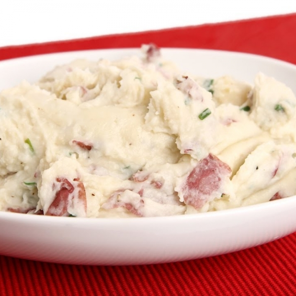 Red Skinned Mashed Potatoes