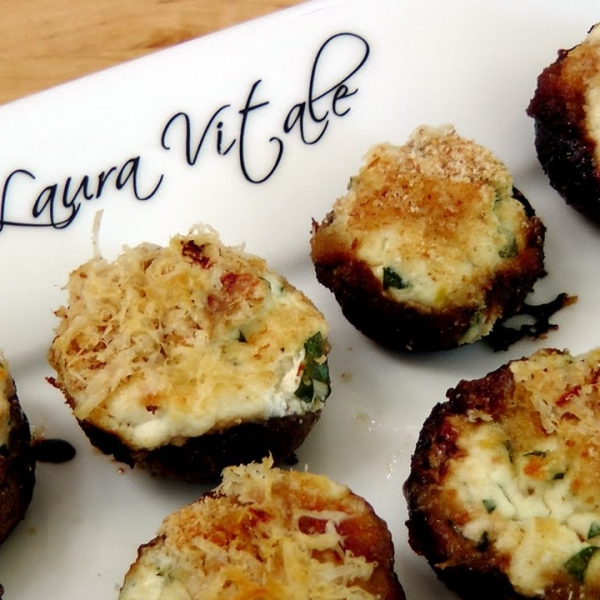 Ricotta Stuffed Mushrooms