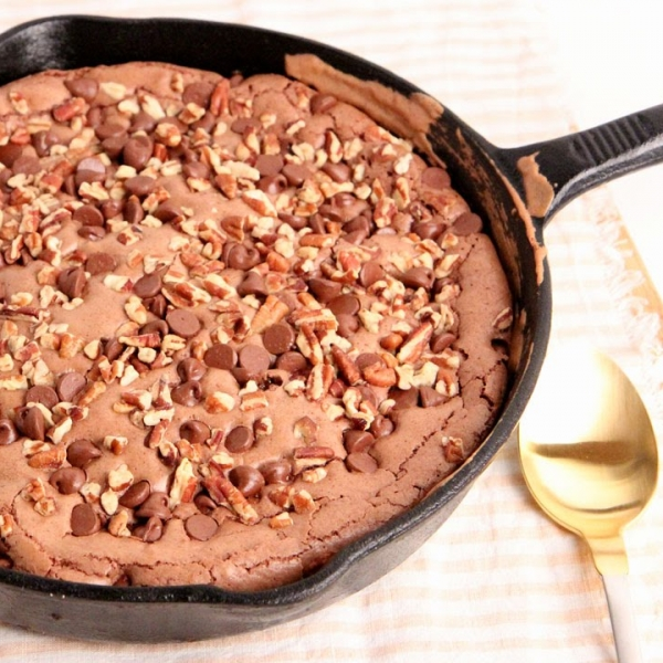 Skillet Brownies