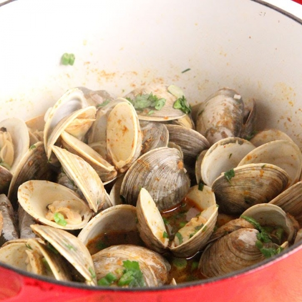 Thai Curry Clams